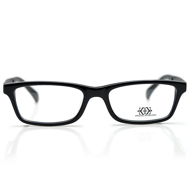 PenSee Mens Eyeglasses Prescription Rectangle Optical Eyewear Frames