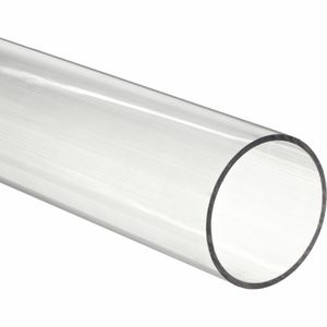 Factory direct best plastic tubing Polycarbonate Extrudate tube PC pipe Clear color