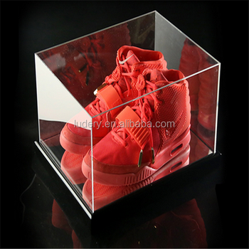 2016 Nouveau Produit Boîte De Sneaker Acryliqueplexiglas Chaussures Présentoiracrylique Nike Buy Boîte À Chaussures En Acrylique,Boîte À
