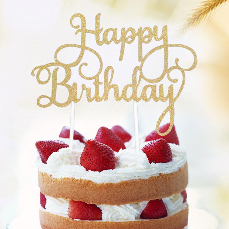 Astonishing Happy Birthday Cake Topper First Birthday Cupcake Topper Cake Funny Birthday Cards Online Barepcheapnameinfo
