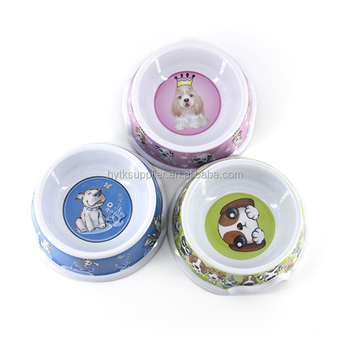 melamine Less-Mess Pet Bowl/Dripless/Anti-Gulping/Spill-Proof/No Skid cat bowl/doggy water bowl