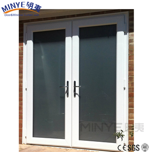 Cheap price main gate design pvc casement door for bedroom