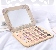 2018 branded 30colours eyeshadow palette matte eyeshadow pearl eyeshadow for makeup