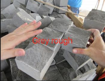 Grau Basalt Einfahrt Grobe Pflaster Würfel Buy Grobe Pflaster