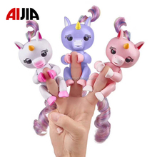 Funny gifts cheap baby product finger ling kid toy finger unicorn