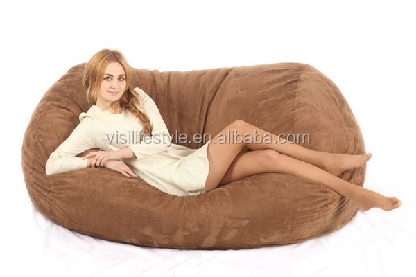 Giant Soft Memory Foam Bean Bag Comfy Sac Big Soft Beanbag
