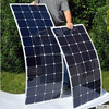 sunpower solar panel 75w small watt flexible solar panel on roof