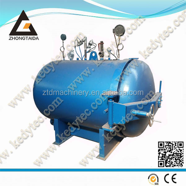 electric tyre retreading machine