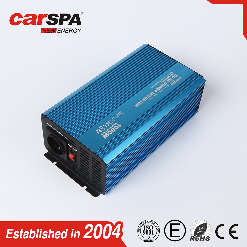 1000W sine wave pv solar power Inverter need battery as back up CARSPA OR OEM
