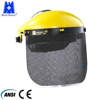 ANSI EN1731 Forestry safety equipment face shield