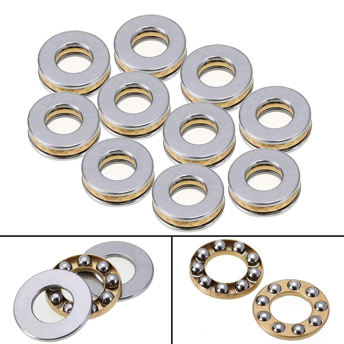 """INA D25 Banded Ball Thrust Bearing 2/"""" Bore New"""