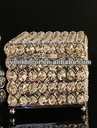 Crystal Beaded Jewelry Box ,Trinket Box 7092