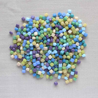 10x10 20x20 chips loose glass mosaic for DIY crafts