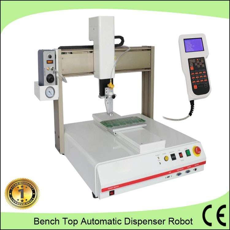 3 axis jewelry accessories automatic gluing machine