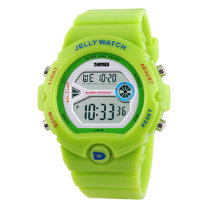 Colorful branded digital watch kids watch band waterproof sport watches