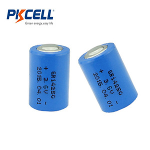 Wholesale PKCELL 3.6V ER14250 1200mAh Li-SOCL2 Battery Li-ion Battery