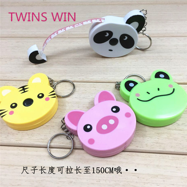 2019 top selling new model cute animal bulk mini tape <strong>measure</strong> 167