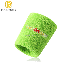 Customized Embroidery Logo Cotton Sport Sweatband And Headband