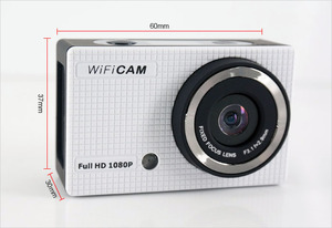 Winait full hd 1080p wifi action camera/sports video recorder build-in Microphone