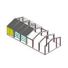 low cost industrial prefabricated light steel structure construction