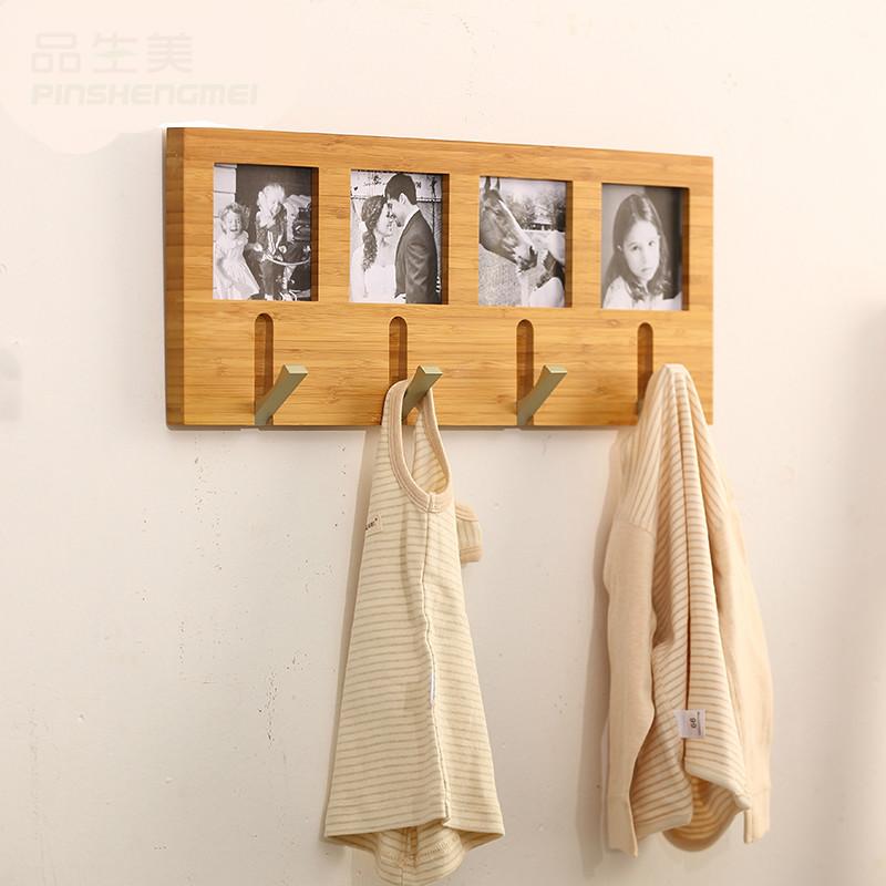 Creative Life Coatrack Hanging Bamboo Wall Hanger Hook