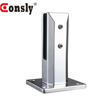 Stainless Steel Glass Railing Spigot/ Glass Clamp