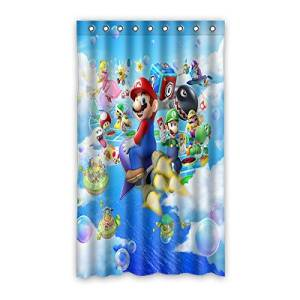 "VIASHOW Custom Personalized Super Mario Bros Blackout Window Curtains/drape/panels/treatment 50""x84""(one piece)"