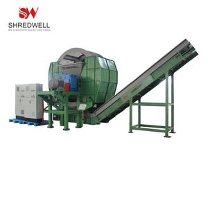 High Efficiency Waste Car Tyre Granulator with Best Price