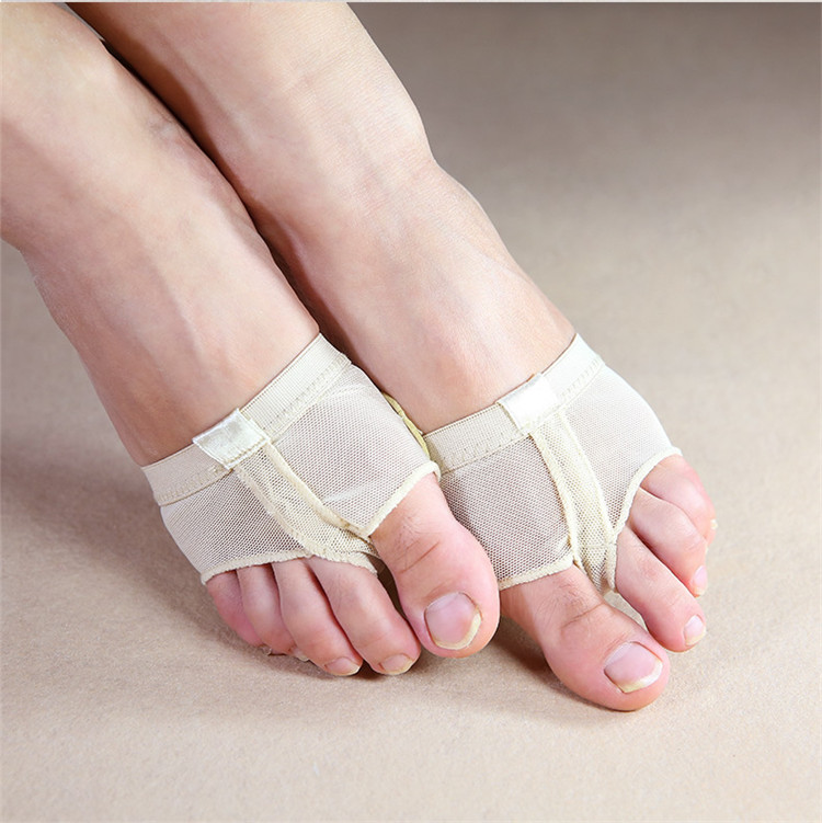 Wholesale Women Girls Cheap Lyrical Half Shoe for Foot Thong for Dance фото