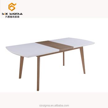 China Nuevo Diseño Único Pequeño Tamaño Comedor Mesa Extensible ...