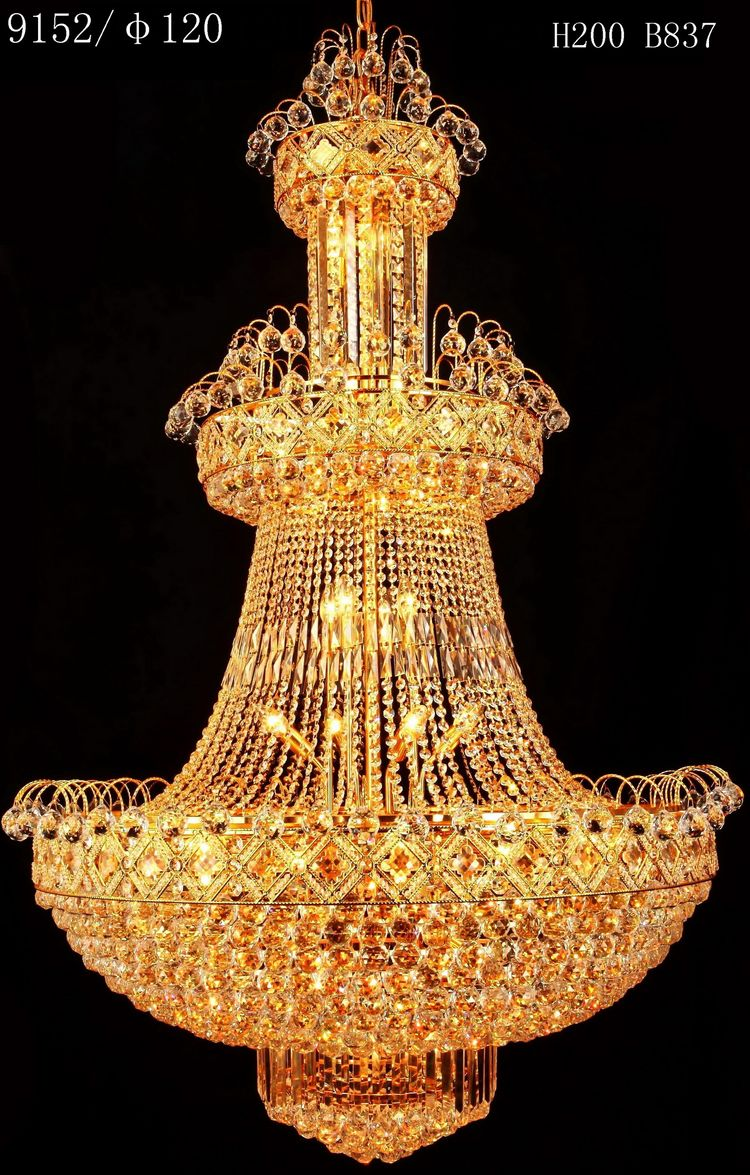New hot fashion high reflective halogen crystal chandelier