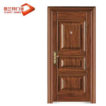 China Luxury Egypt Design Exterior Steel Security Door