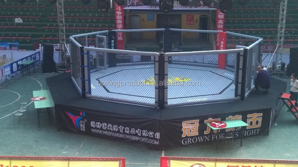 Pro octagon mma cage sale form professional factory