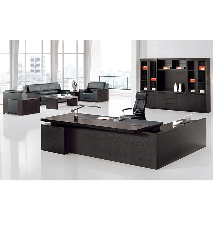 big wooden modern executive desk office table design buy. Black Bedroom Furniture Sets. Home Design Ideas