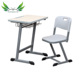 furniture for school Single desk and chair set student desk and chairs set, school student table and chair set