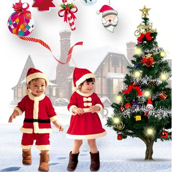 drop shipping kids christmas clothes sets santa claus clothing set topspant 4pcs boys christmas - Christmas Clothes For Kids