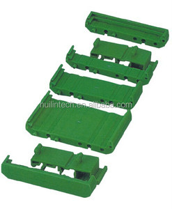 Dinkle din rail plastic PCB carrier electronic enclosure