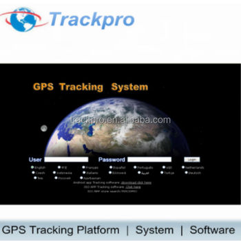 realtime online/pc server/apps gps tracking system with google street view map