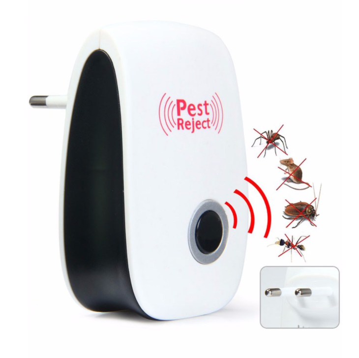 2018 New Pest Control Ultrasonic Repeller, Repellent Indoor for Mosquitoes, Mice, Ants, Rats, Roaches, Spiders, Bugs, Flies