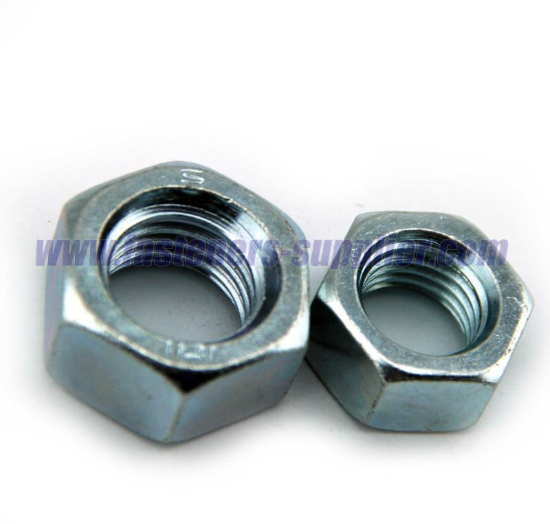 Zinc Plated Carbon Steel DIN 934 Hex Nut manufacturer