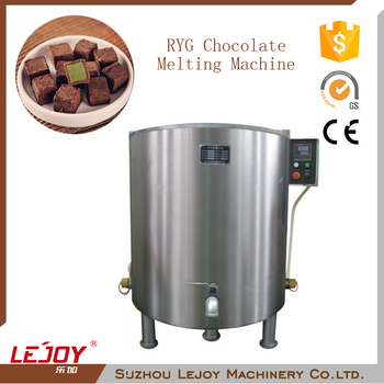 Commercial Stainless Steel Encrusting Melting Chocolate Machine