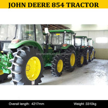 China Agricultural Machinery Cheap 4WD 85hp Farm Tractor John deer 854 For Sale