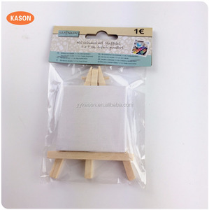 Wholesale Wooden craft Mini wood easel for kids