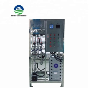 30M3/H industrial ultra pure water UF+RO+EDI water treatment system