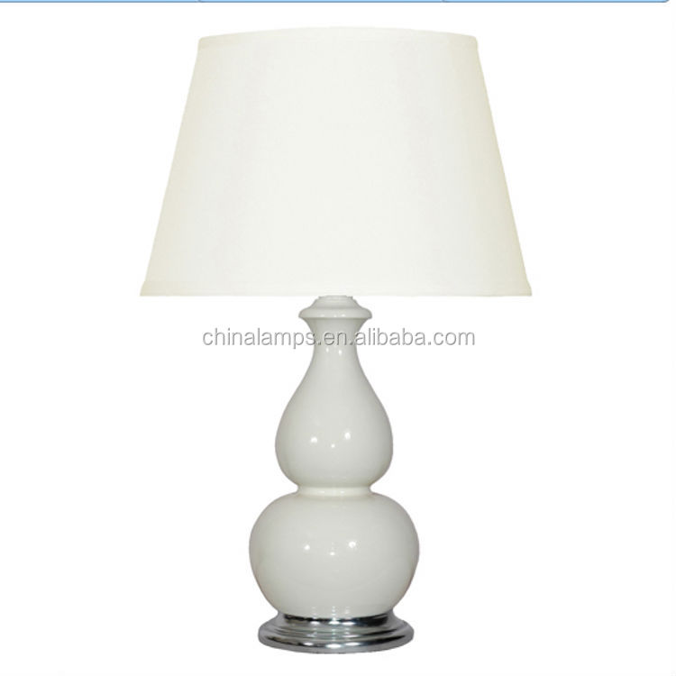 UL ceramic white hotel lamp replica flos lamp taccia table lamp for motel