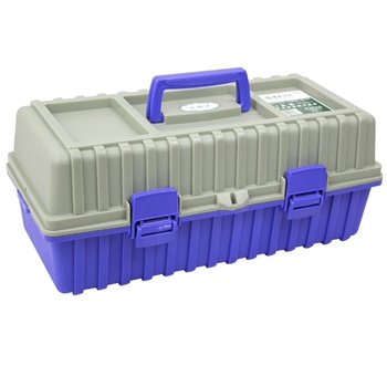 LAOA Multifunctional PP material strengthen 3 layers plastic hardware trolley tool storage box
