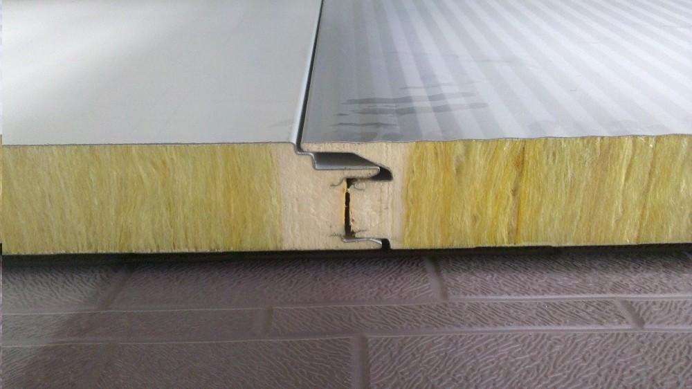 mat riaux de construction nouveau type laine de verre panneau sandwich pour mur d 39 isolation. Black Bedroom Furniture Sets. Home Design Ideas