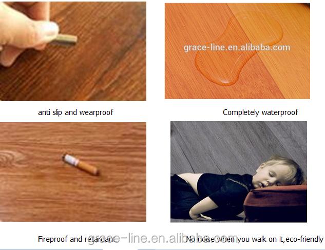 Houten textuur transparante laag pvc vinyl vloeren mat roll buy