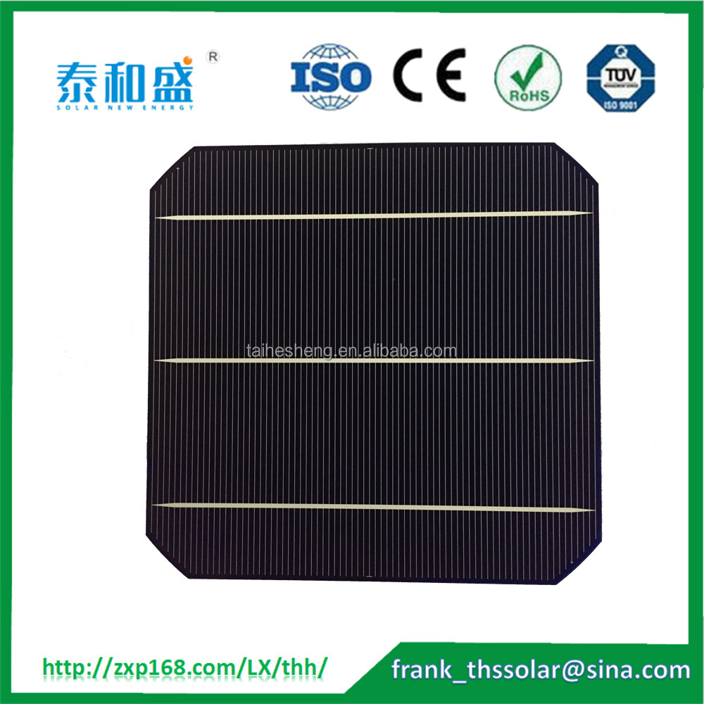 156*156mm Size and Monocrystalline Silicon Material Wholesale Taiwan 6x6 mono solar cell