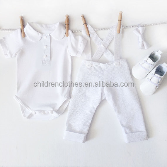 Baptism Christening Set Boy Clothes Boy Christening Outfit Baby Boy Clothes